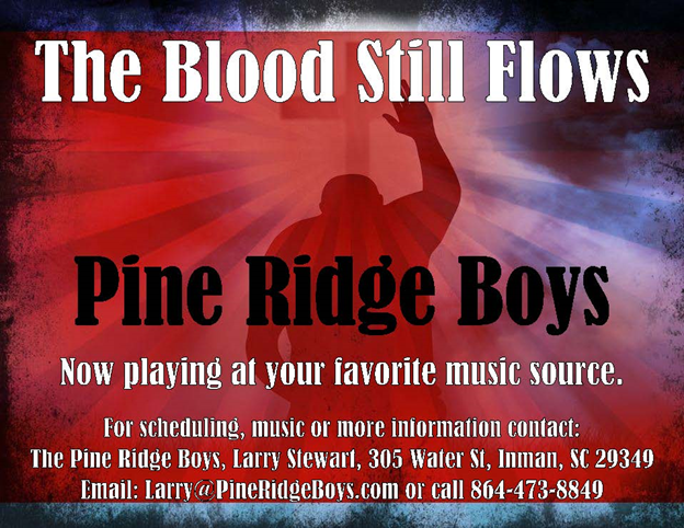 "Classic Artists Records and the Pine Ridge Boys Release ""The Blood Still Flows"""