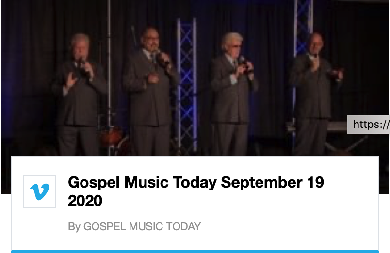 Gospel Music Today - September 19, 2020