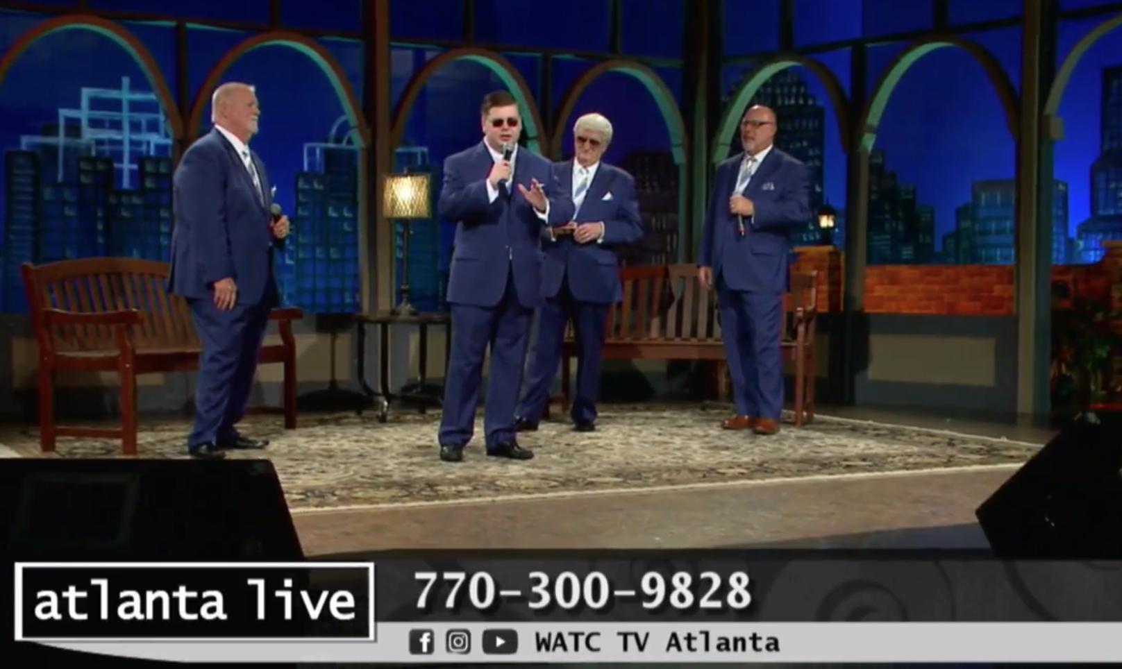 Pine Ridge Boys on Atlanta Live
